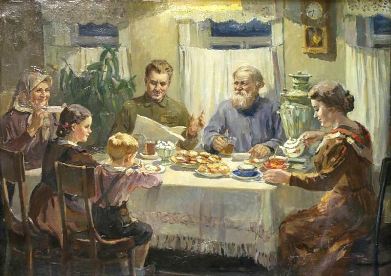 продукт на ужин советское время