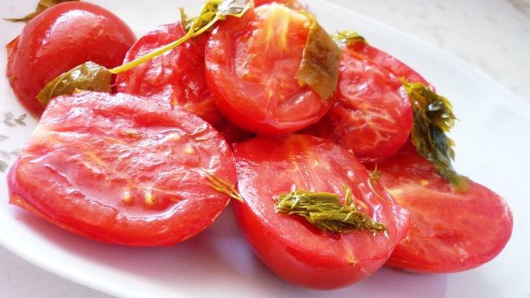 сладкие помидоры закуска