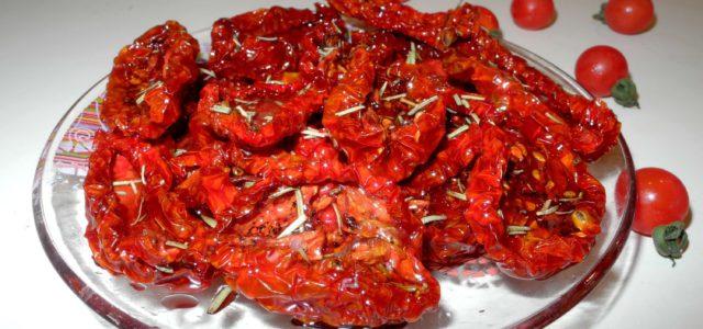 Рецепт вяленых томатов в микроволновке