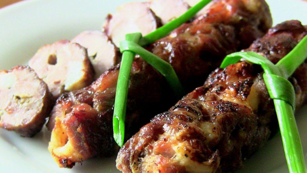 Рецепт: Домашняя колбаса в духовке
