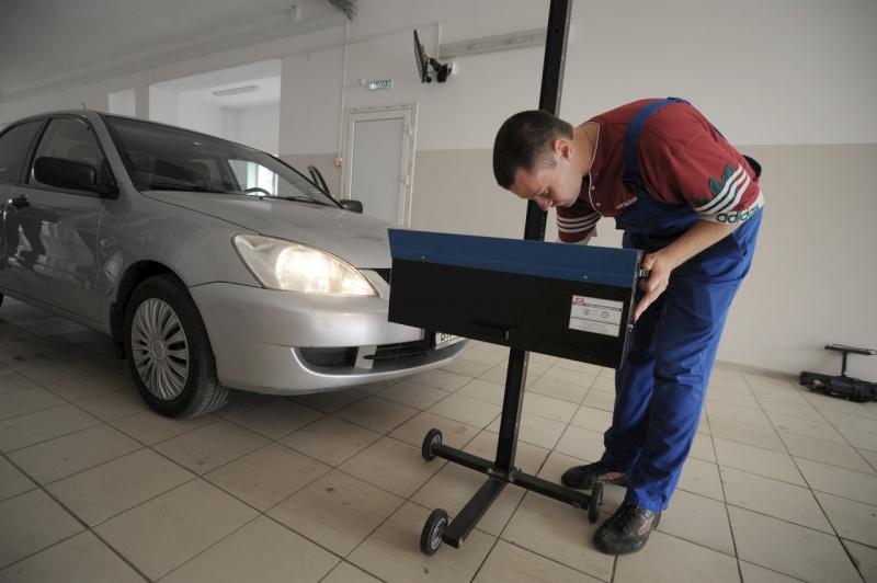 Разрабатывается новая система техосмотра автомобилей