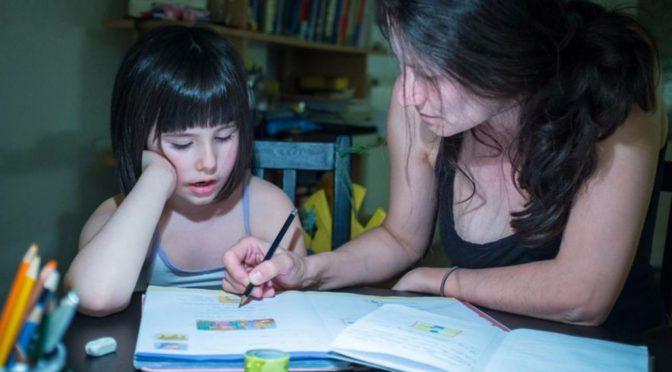 Как часто российские родители помогают своим детям с уроками