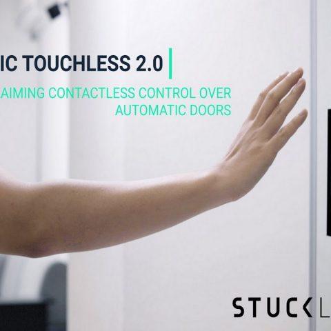 Разработана дверь, которую можно открыть жестом