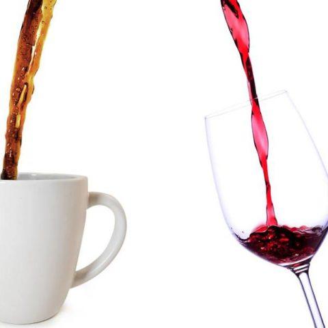 Вино и кофе благотворно влияет на кишечник