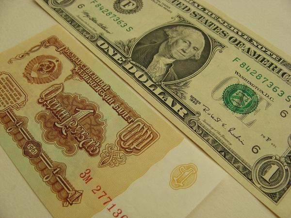 Сравнение по курсу доллара