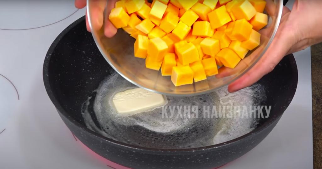 Шикарный десерт из обычной тыквы за 15 минут